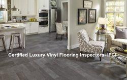 Luxury Vinyl Flooring Inspector Certification-Update March 2018